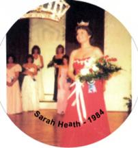 beauty queen Sarah Palin