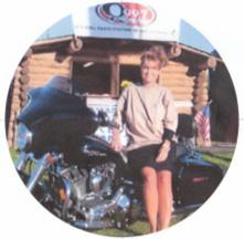 motorcycle girl Sarah Palin