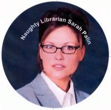 Sarah Palin as naughty librarian