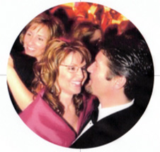 Sarah and Todd Palin dancing