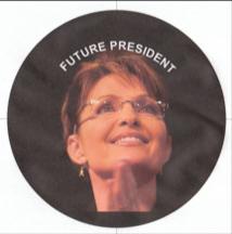 future president Sarah Palin