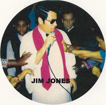 Jim Jones and members of the People's Temple
