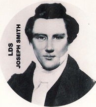 the prophet Joseph Smith, founder of the Mormon Church