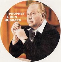 Scientology prophet L Ron Hubbard