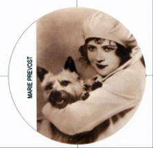 Mary Provost-Marie Prevost refrigerator magnet