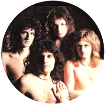 Queen naked - Brian May, Freddie Mercury