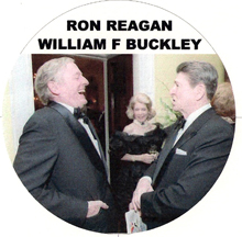 Ronald Reagan and William F Buckley image
