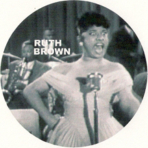 r&b great Ruth Brown belting one out