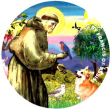 St Francis of Assisi magnet