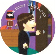 Tom Cruise is in the closet