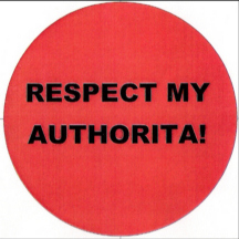 Respect my authorita!