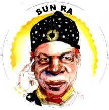 Sun Ra caricature