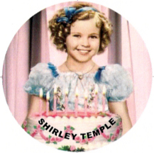 Shirley Temple birthday greetings