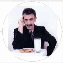 Frank Zappa cookies and milk image