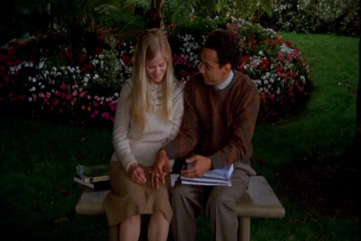 Lindy Newton as young Trudy Ellison and Luiggi Debiasse as young Adrian Monk