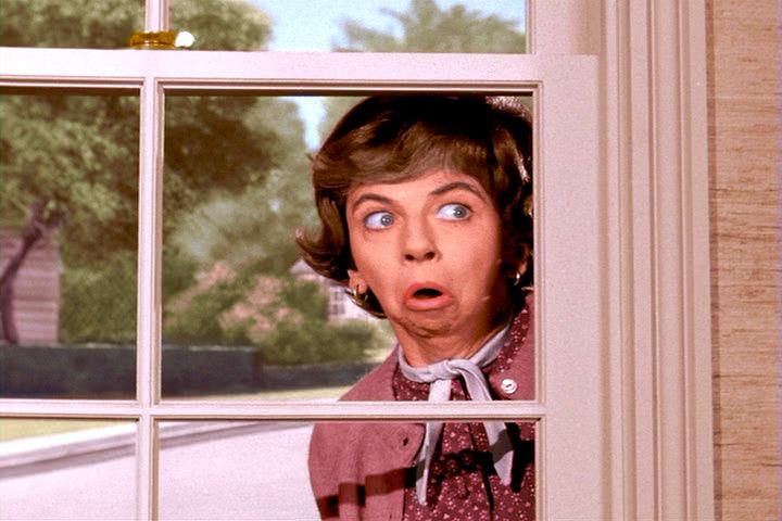 peeping tom Gladys Kravitz