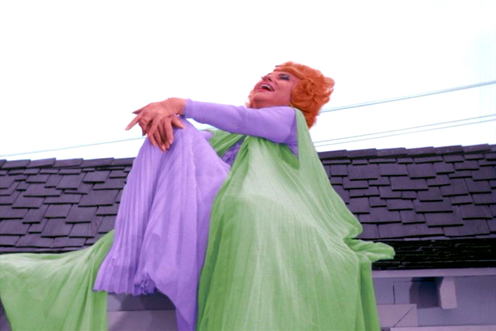 Agnes Moorehead as Endora on Bewitched