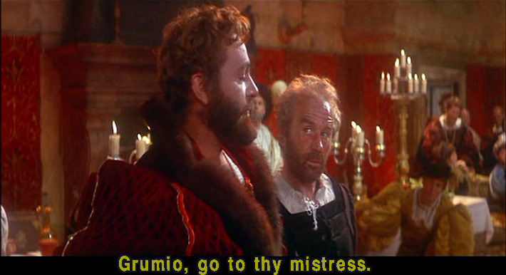 taming of the shrew grumio