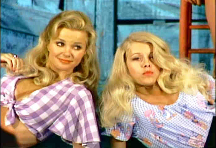 Gunilla Hutton and Misty Rowe