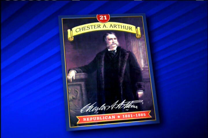 picture of President Chester A Arthur