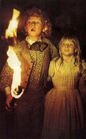 Johnny Whitaker and Jodie Foster in Tom Sawyer, 1973