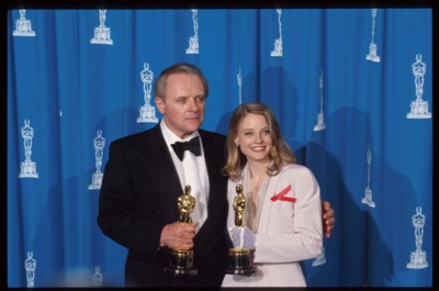 Anthony Hopkins, Jodie Foster and a couple of Oscars