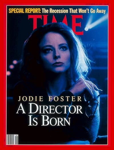 Jodie Foster on the cover of Time Magazine