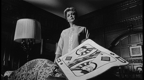 Angela Lansubury as Eleanor Iselin in The Manchurian Candidate