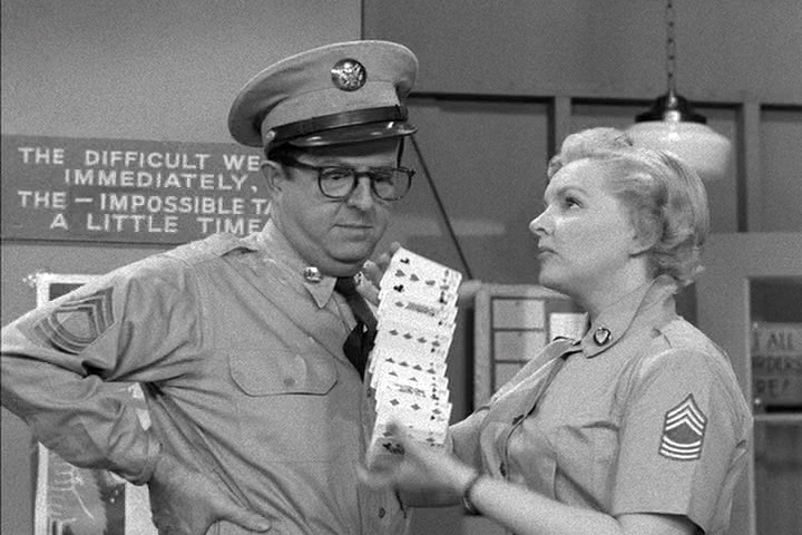phil silvers's tv sergeant