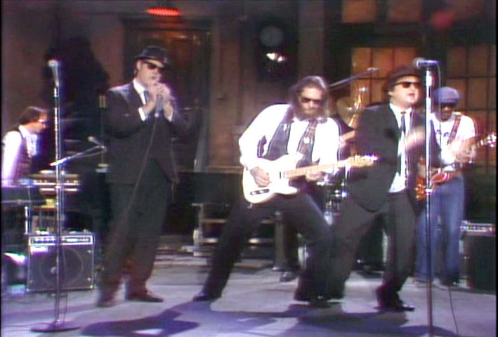 guitar baddass Steve Cropper with the Blues Brothers, 1978 image