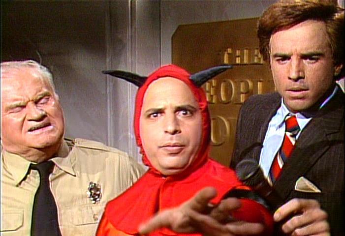 Jon Lovitz as Mephistopheles, the devil, in The People's Court 9