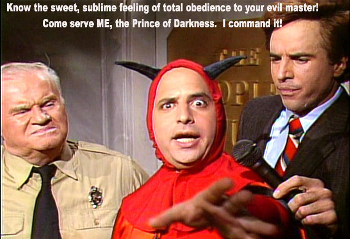 Jon Lovitz as Mr Mephistopheles on Saturday Night Live