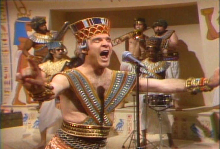 "Steve Martin 1978 Photo Gallery - ""King Tut"" on Saturday ..."