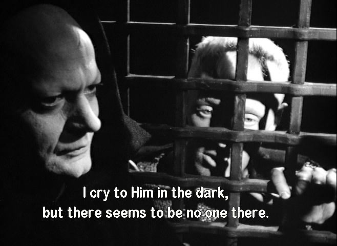 Max von Sydow and Bengt Ekerot in The Seventh Seal