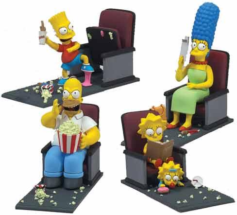 The Simpsons movie toys