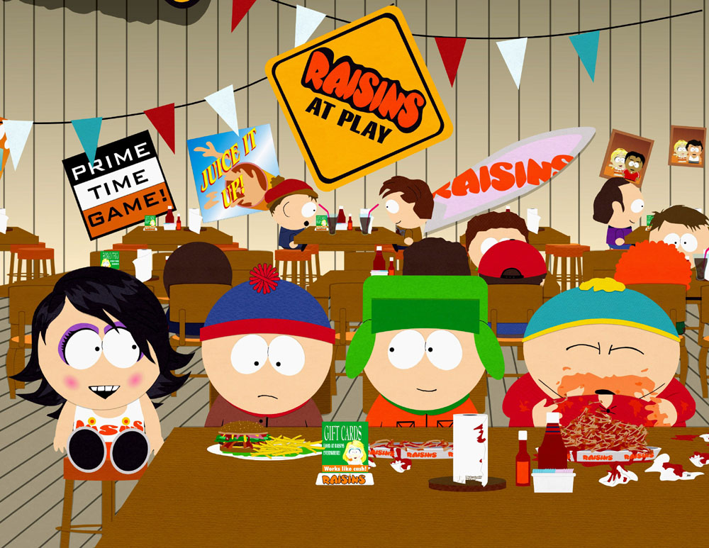 South Park Raisins franchise