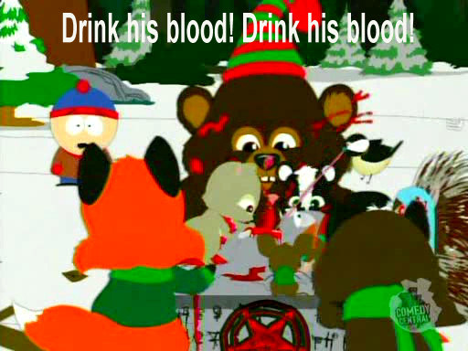 Congratulate, brilliant blood orgy southpark