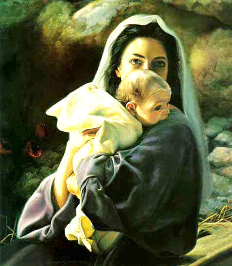 Birth of Baby Jesus Picture Gallery 1