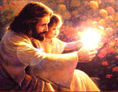 paintings of jesus with children. Children and Jesus Christ