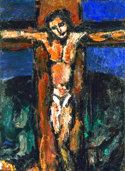 Jesus of Nazareth Crucifixion Photo Gallery 4 Chagall Crucifixion