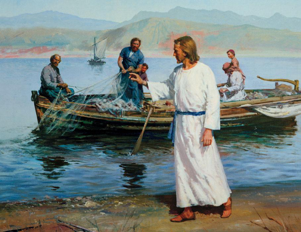 Jesus Christ will make you fishers of man