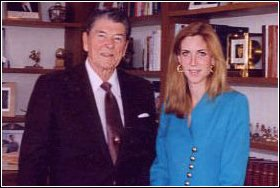 Ann Coulter and Ronald Reagan