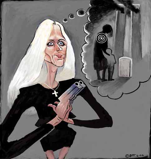 Ann Coulter, heartless assassin of widows and orphans!