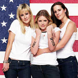 the Dixie Chicks are as American as Benedict Arnold