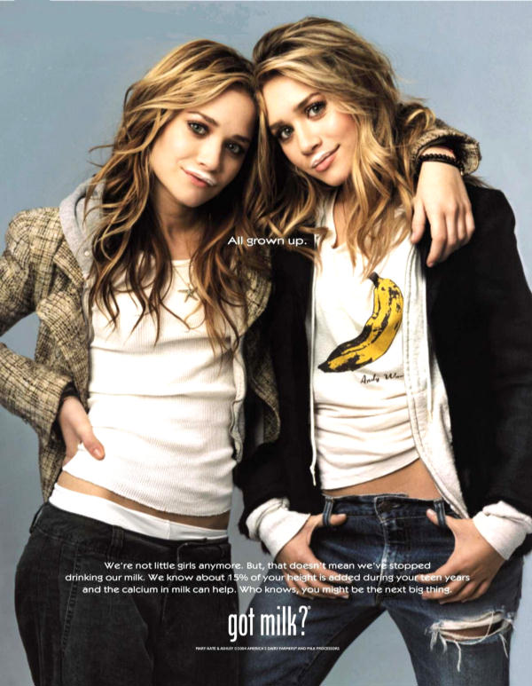 Quadruplets 2016 The Olsen twins...