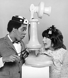 Richard Pryor and Lily Tomlin