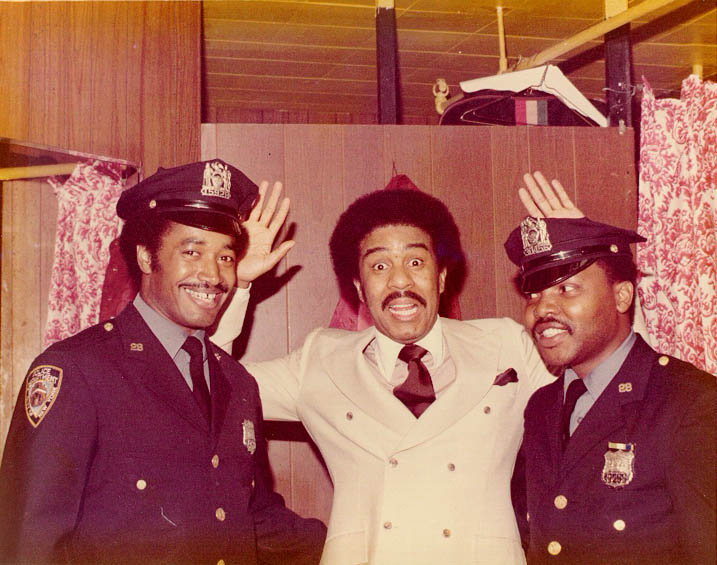 Richard Pryor and a couple of cops