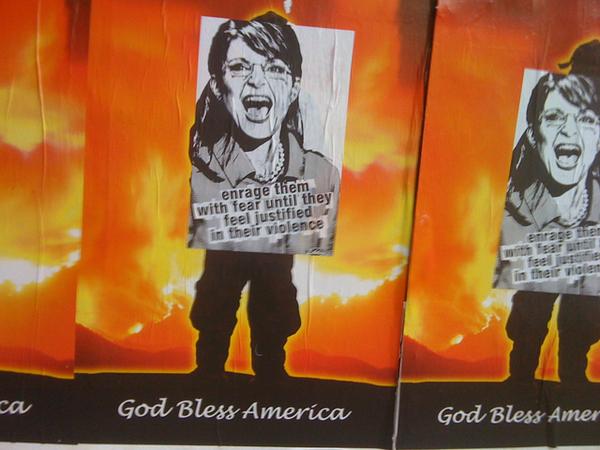 anti-Sarah Palin poster