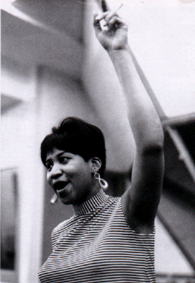 Aretha Franklin is beautiful