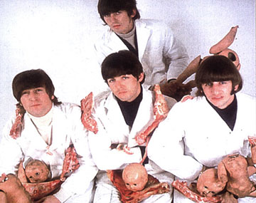 Capitol Records weren't the only ones to butcher the Beatles